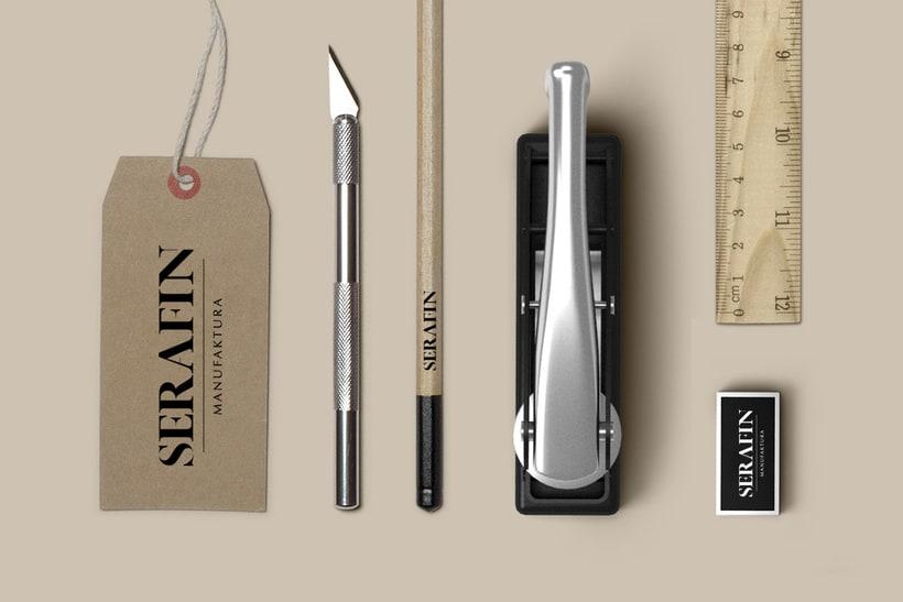 Branding - Serafin Manufaktura (taller de costura) 0