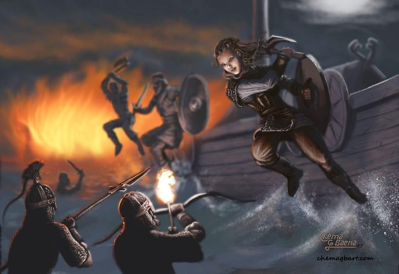 Vikings Fanart -1