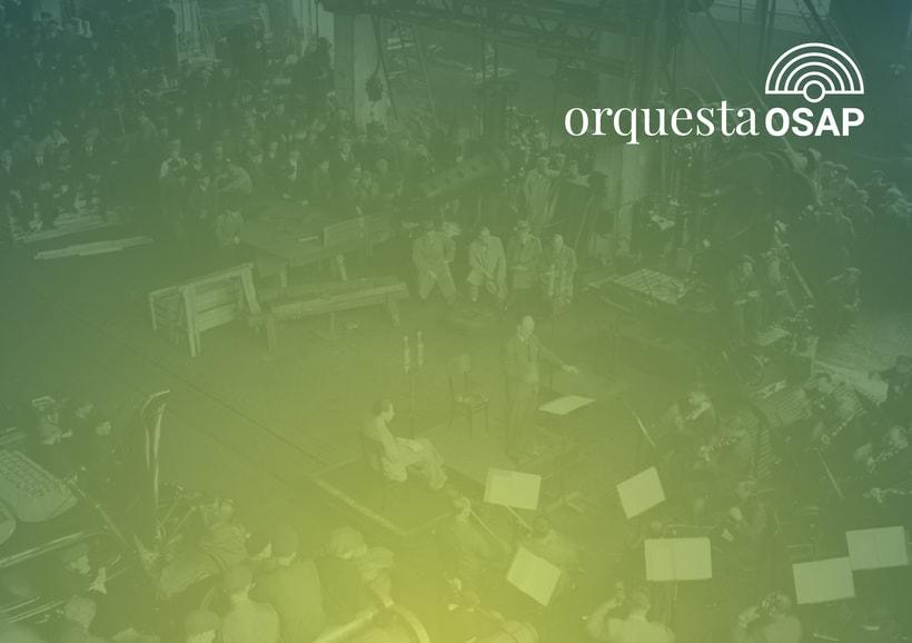Orquesta Sinfónica Arte y People | Brand Identity 0