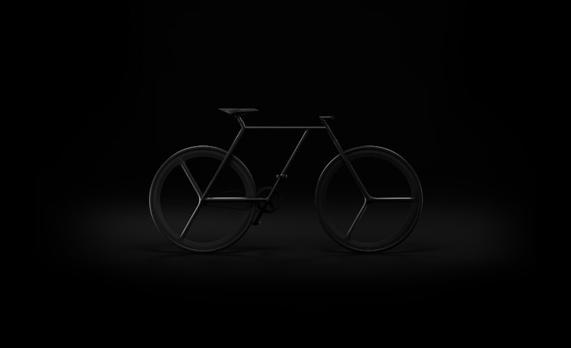 BAIK - diseño minimalista de bicicleta 3
