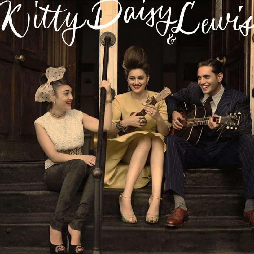 Logo de Kitty, Daisy & Lewis  2