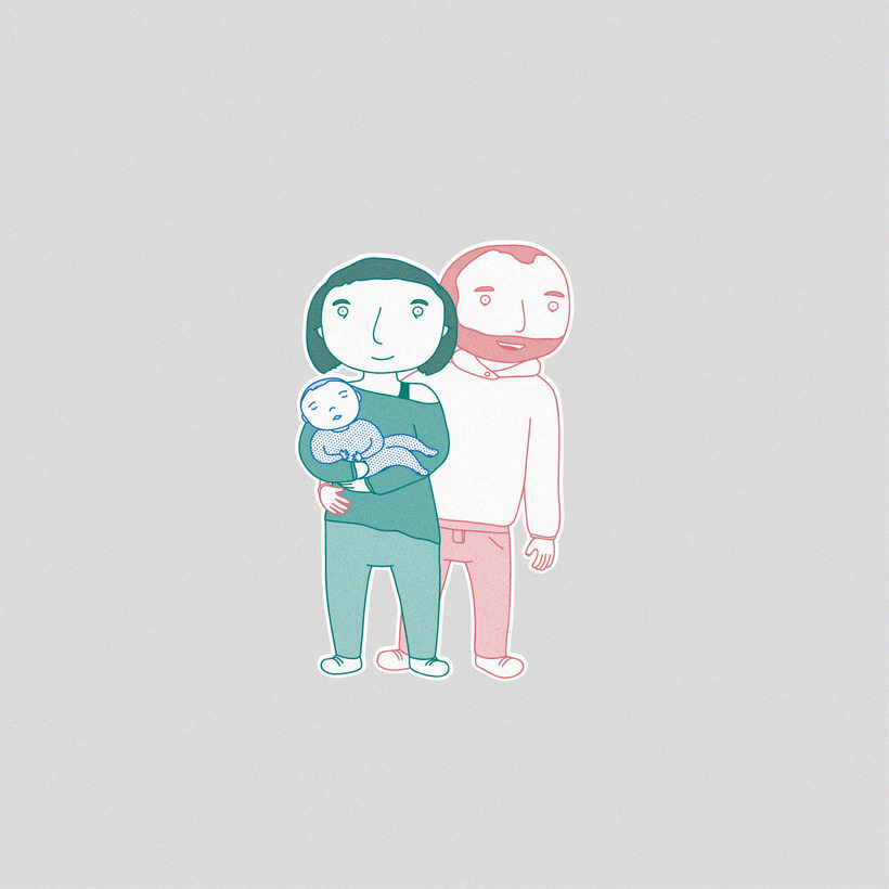 Illustration | Lovely families 0