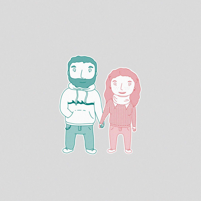 Illustration | Lovely families 1