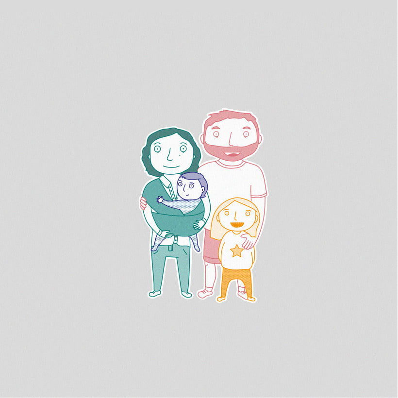 Illustration | Lovely families 2