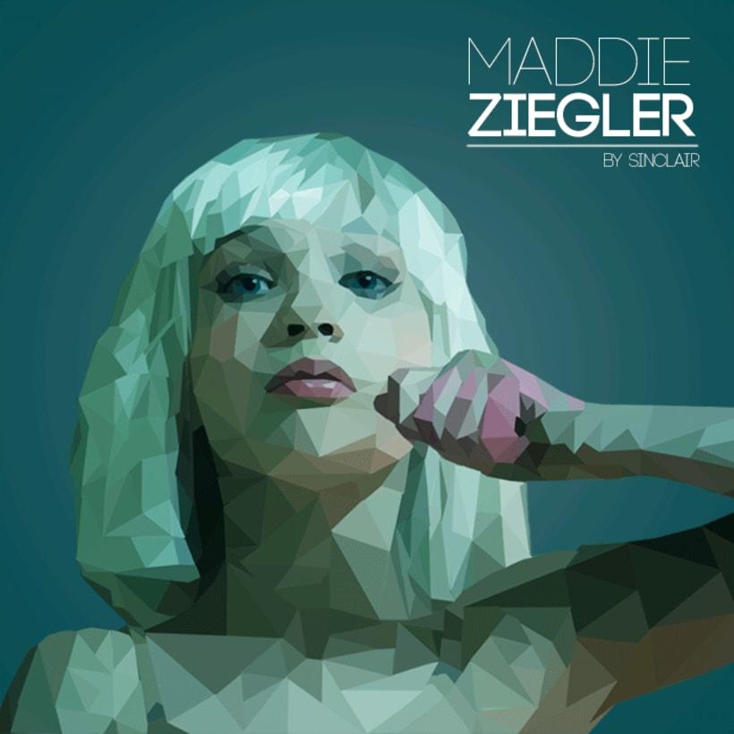 Maddie Ziegler | Low Poly 0