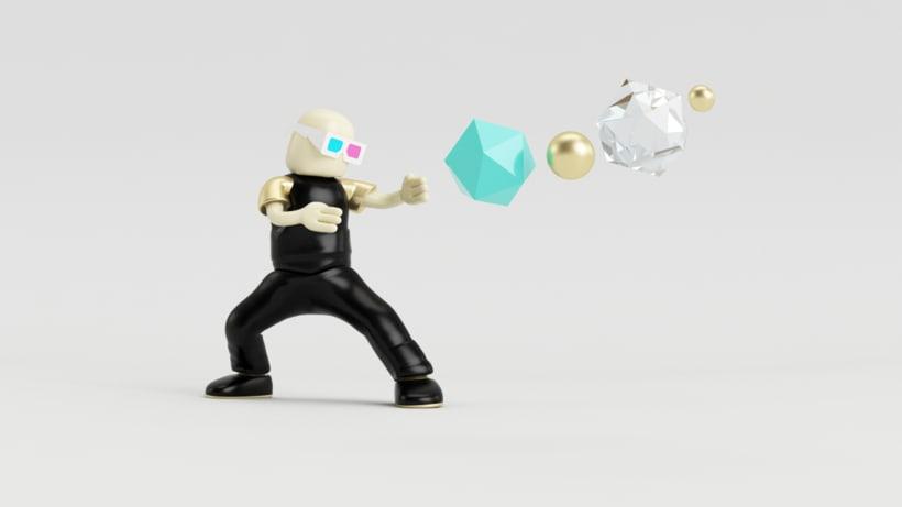 Zero Gravity // Diseño de personajes en Cinema 4D: del boceto a la impresión 3D -1