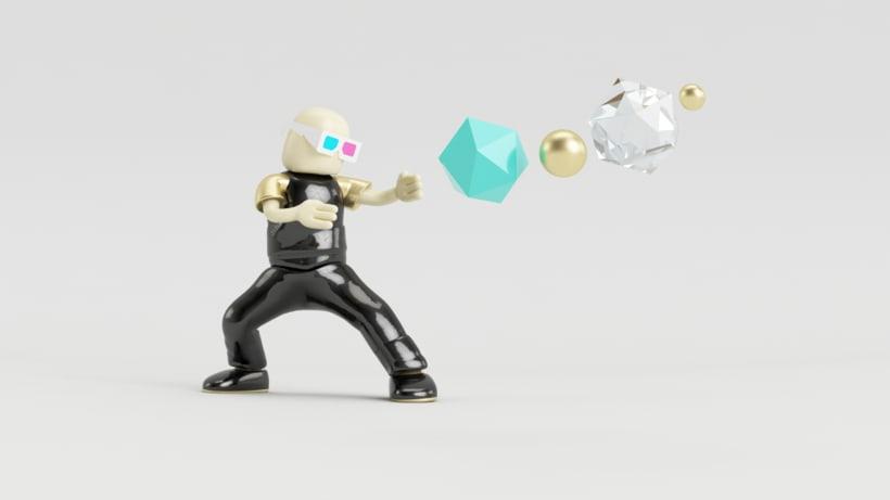 Zero Gravity // Diseño de personajes en Cinema 4D: del boceto a la impresión 3D 0
