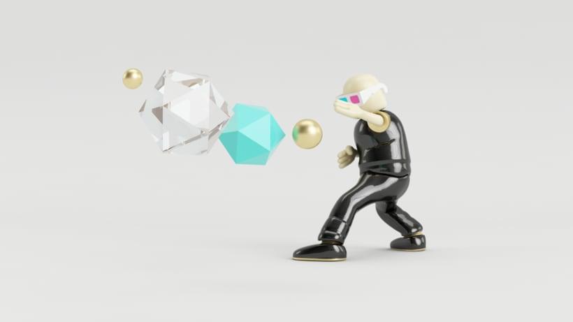 Zero Gravity // Diseño de personajes en Cinema 4D: del boceto a la impresión 3D 1