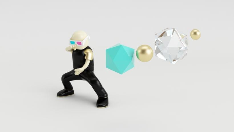 Zero Gravity // Diseño de personajes en Cinema 4D: del boceto a la impresión 3D 2