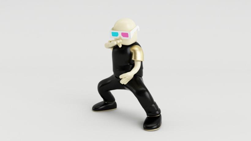 Zero Gravity // Diseño de personajes en Cinema 4D: del boceto a la impresión 3D 3