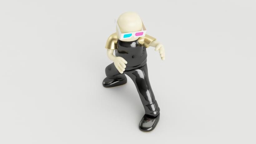 Zero Gravity // Diseño de personajes en Cinema 4D: del boceto a la impresión 3D 4