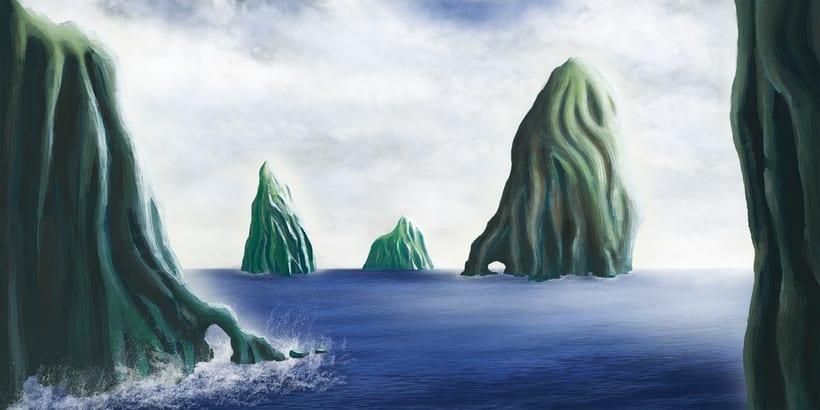 Mi Proyecto del curso: Matte Painting: creando mundos fotorrealistas 1