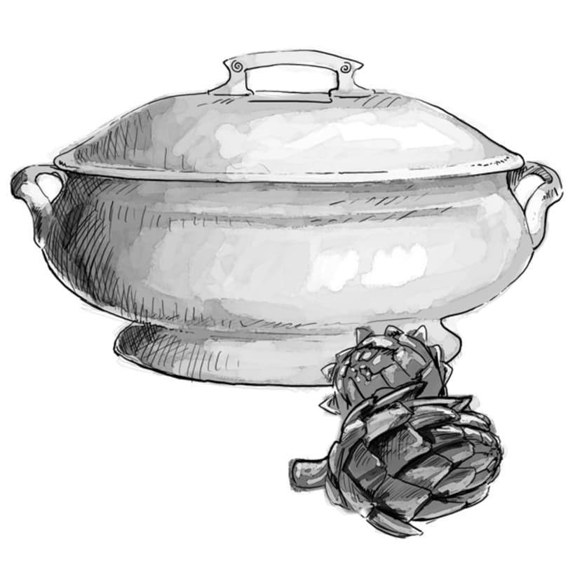 Ilustraciones gastronómicas 4