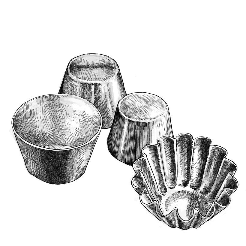 Ilustraciones gastronómicas 2