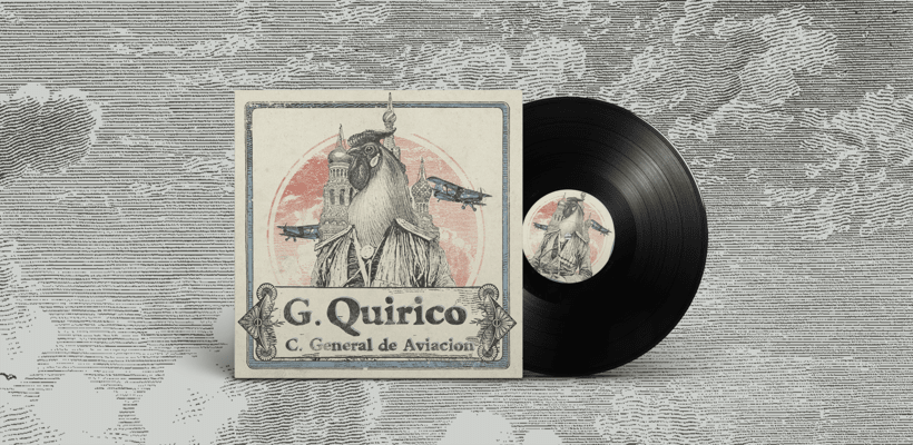 Gallo Quirico, Vinilo y Merchandising -1