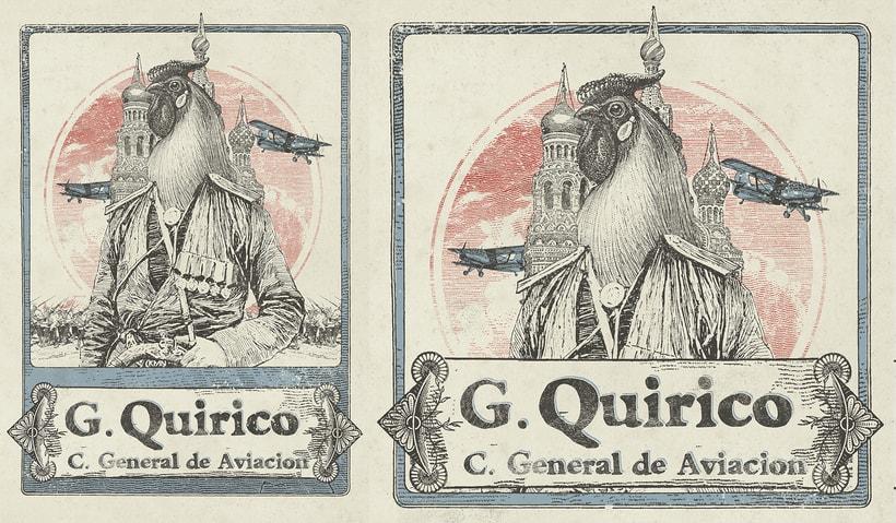 Gallo Quirico, Vinilo y Merchandising 5