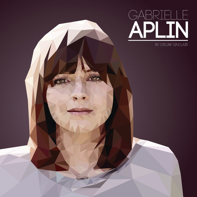 Gabrielle Aplin | Low Poly -1