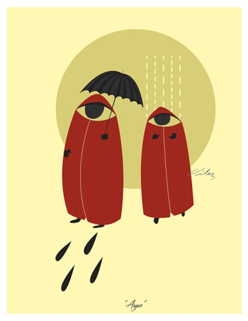 """Serie: """"ARGOS"""", Ilustración digital. ChV, 2016. 0"""