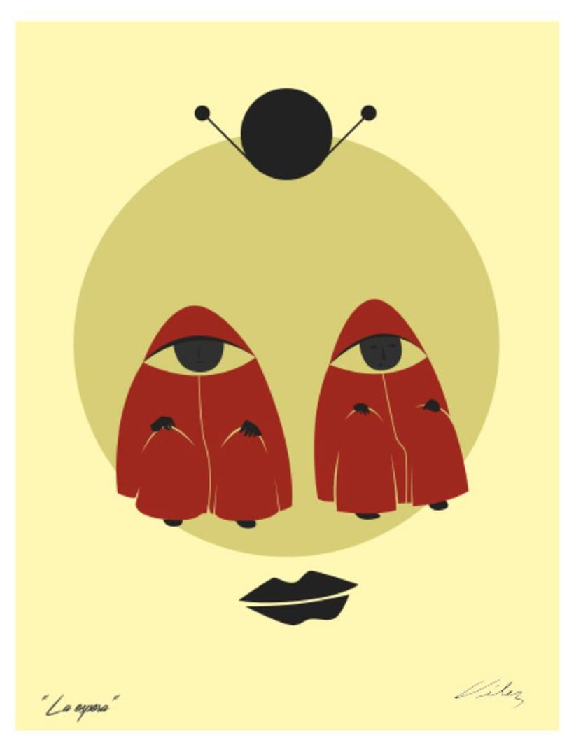 """Serie: """"ARGOS"""", Ilustración digital. ChV, 2016. 1"""