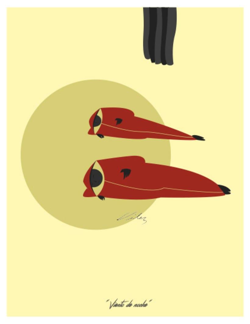 """Serie: """"ARGOS"""", Ilustración digital. ChV, 2016. 2"""