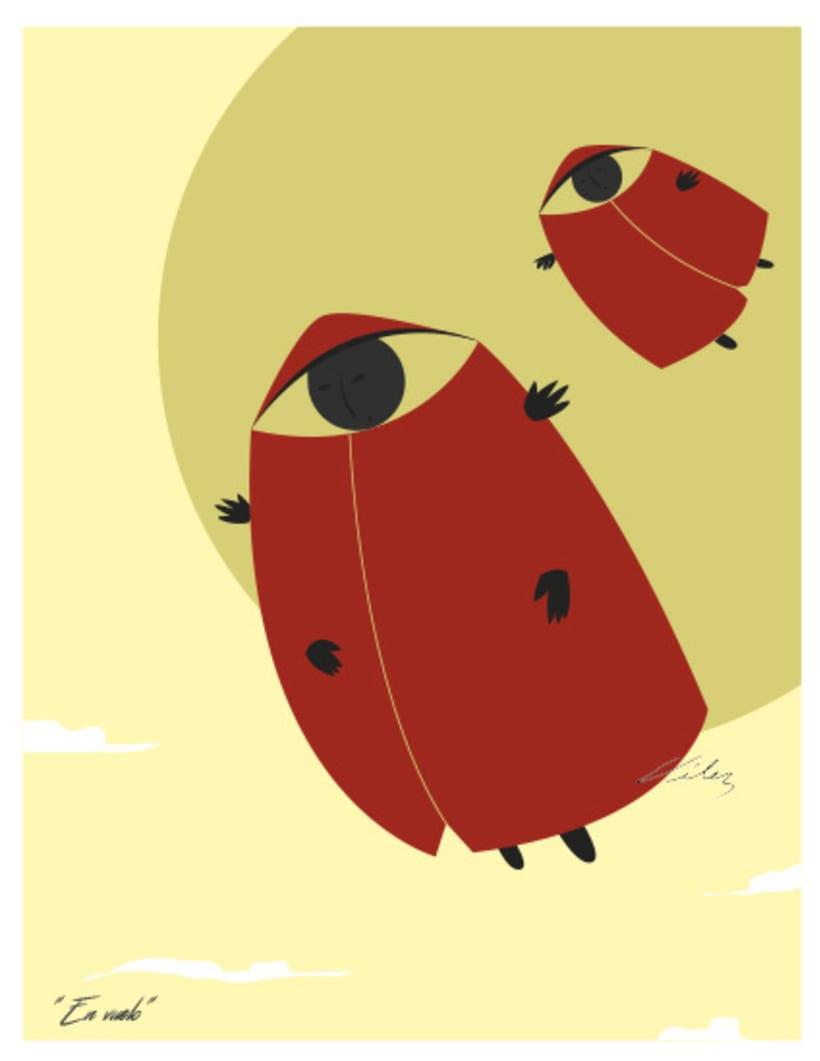 """Serie: """"ARGOS"""", Ilustración digital. ChV, 2016. 4"""