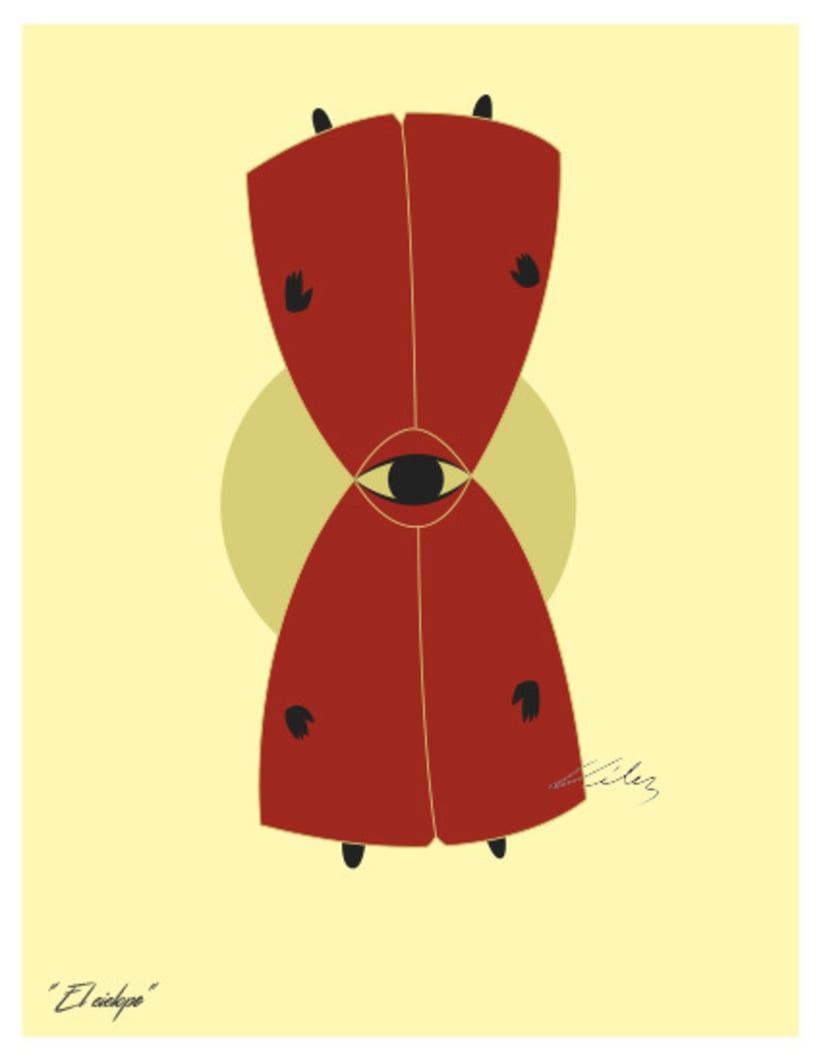 """Serie: """"ARGOS"""", Ilustración digital. ChV, 2016. 6"""