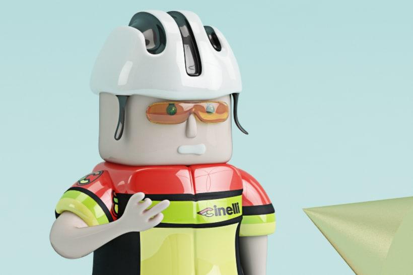 El Ciclista: nuevo integrante del Cinelli team 0