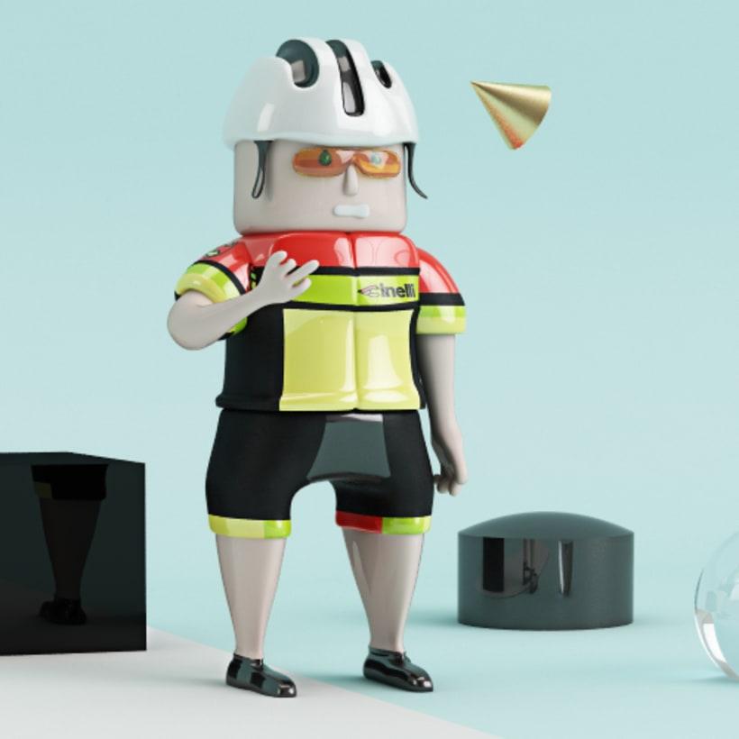 El Ciclista: nuevo integrante del Cinelli team 1