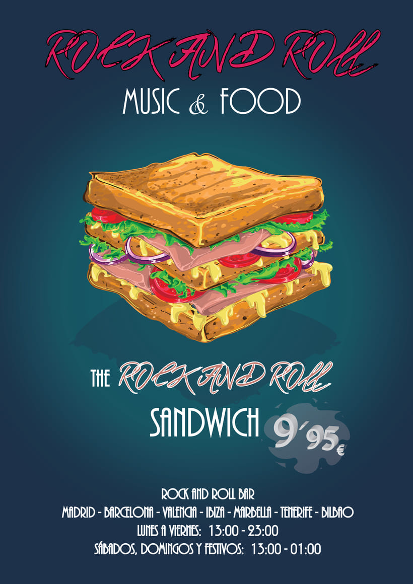 Rock and Roll Sandwich -1