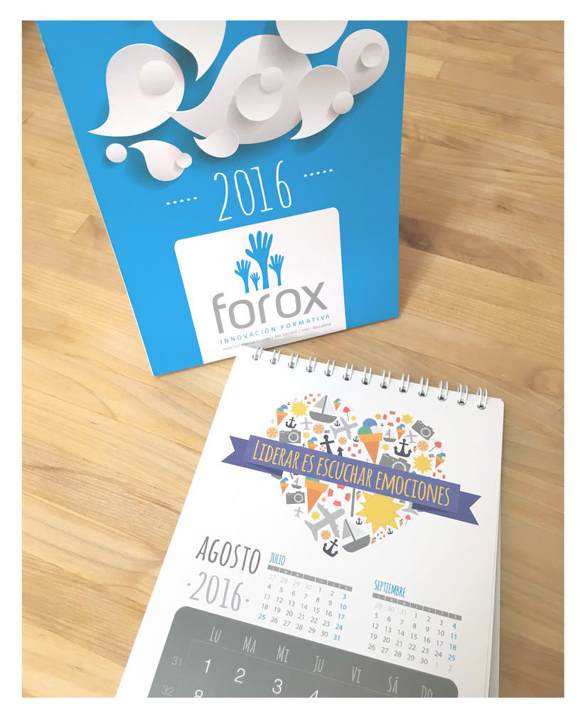 Diseño visual corporativo Forox 2016 0