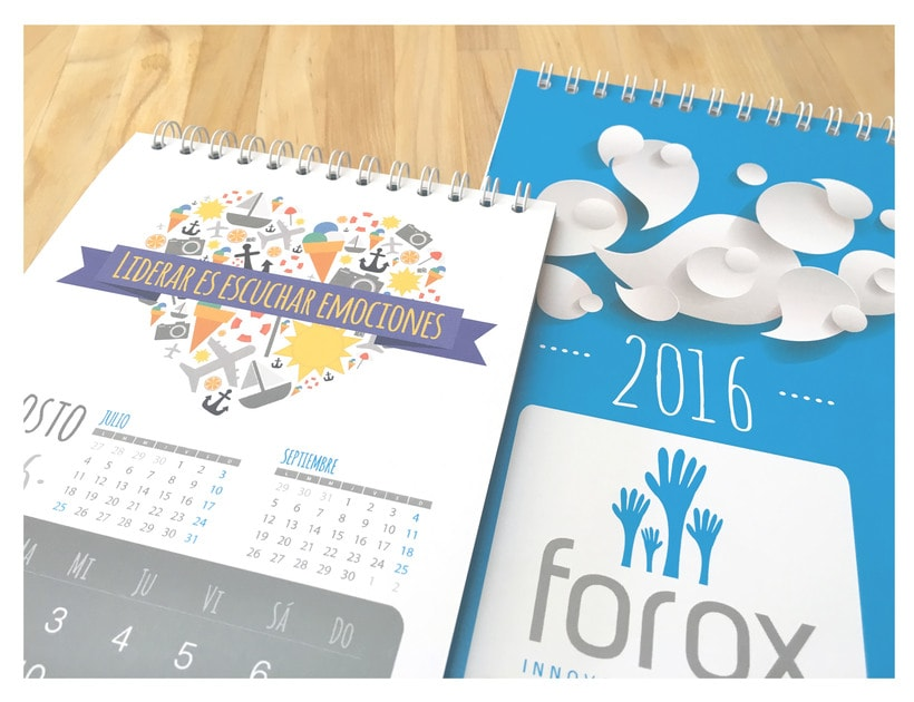 Diseño visual corporativo Forox 2016 1