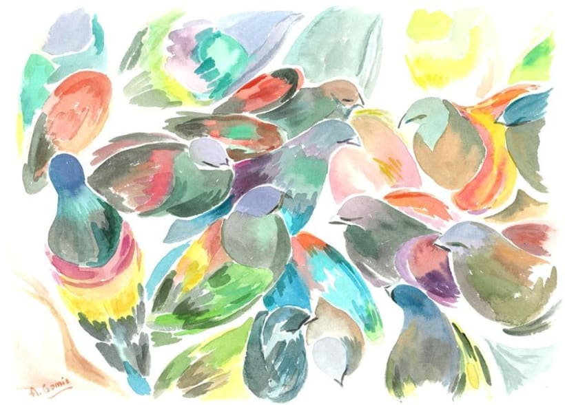 Color de Agua - Watercolor - Acuarelas  1