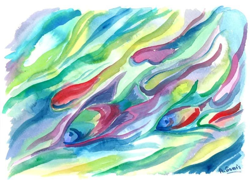 Color de Agua - Watercolor - Acuarelas  2