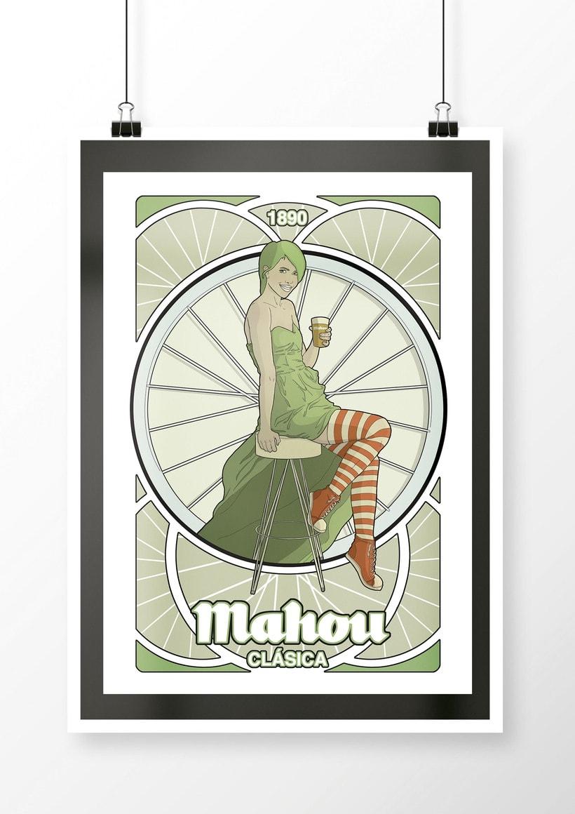 Propuesta para cervezas Mahou 1