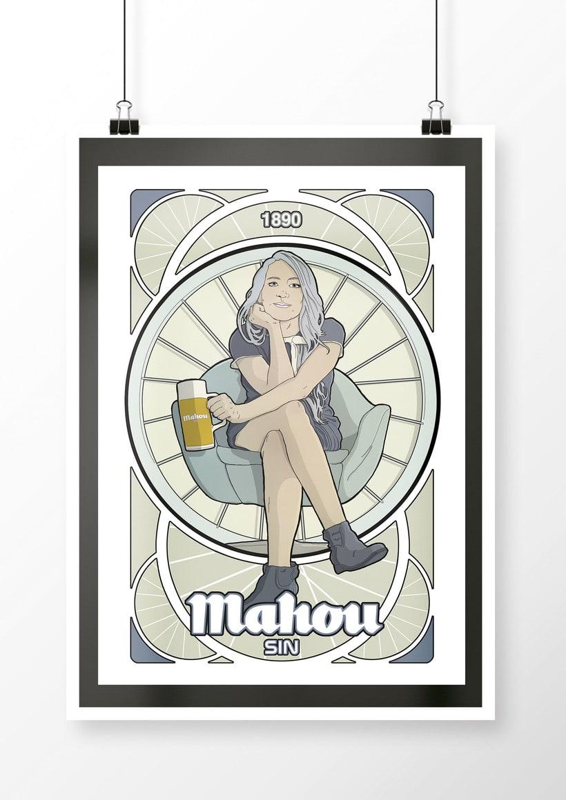 Propuesta para cervezas Mahou 2