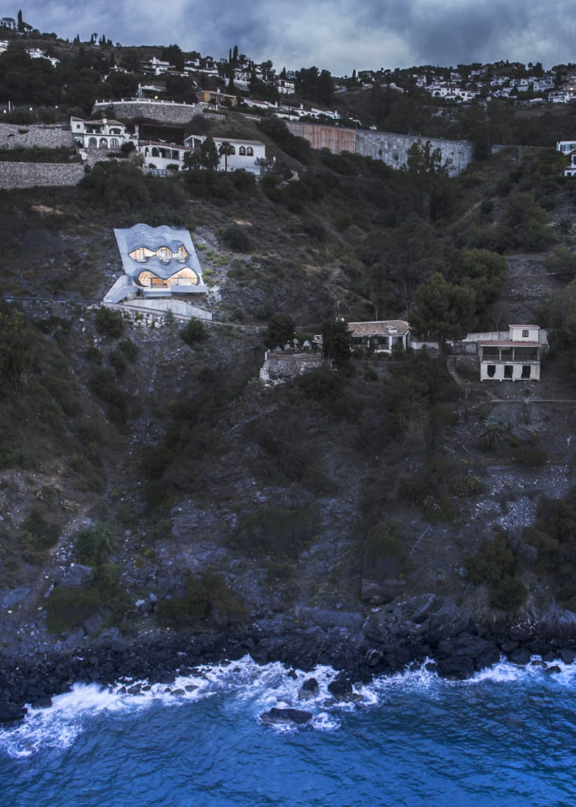 """Reportaje fotográfico: """"Casa del Acantilado"""" 2"""