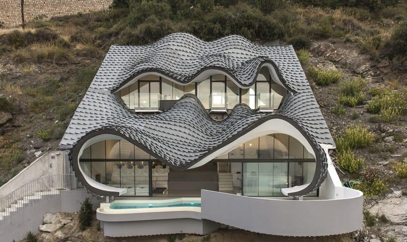 """Reportaje fotográfico: """"Casa del Acantilado"""" 5"""