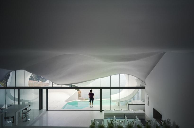 """Reportaje fotográfico: """"Casa del Acantilado"""" 9"""
