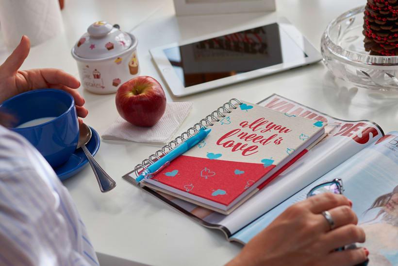Cuadernos Macaron / Doodles Love 1