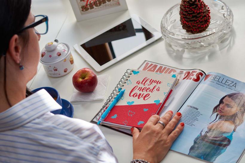 Cuadernos Macaron / Doodles Love 3