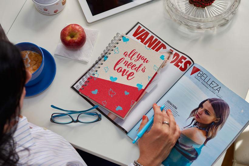 Cuadernos Macaron / Doodles Love 4