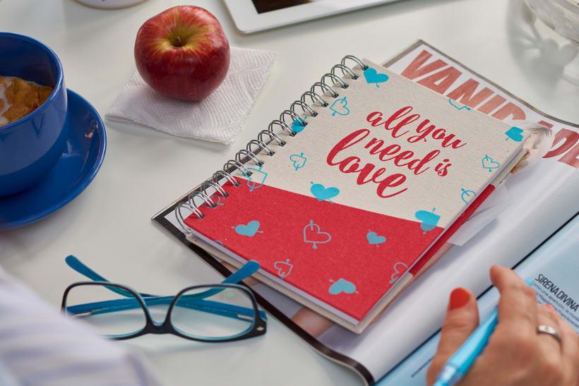Cuadernos Macaron / Doodles Love 5