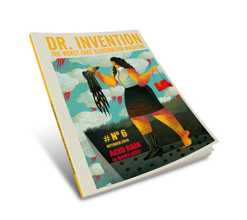 El vigoroso trabajo de Dr. Invention 6