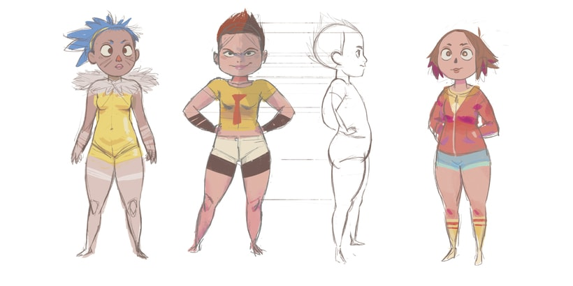 Character design (personal) 0