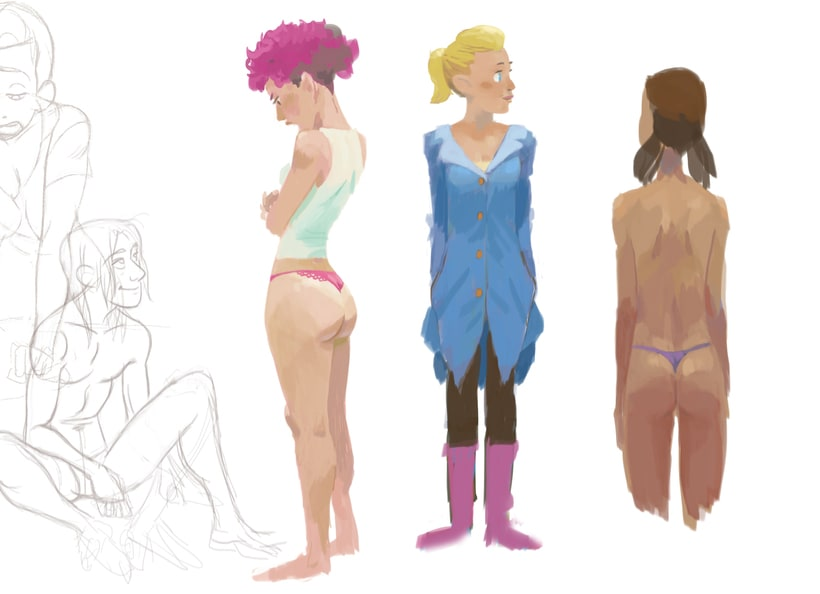 Character design (personal) 2