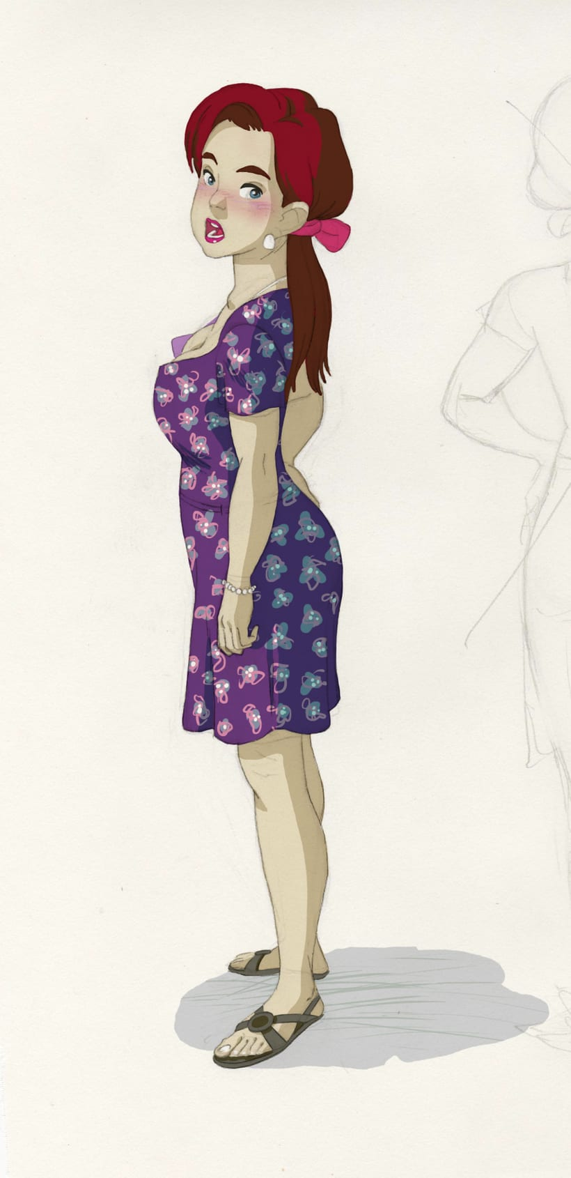 Character design (personal) 4