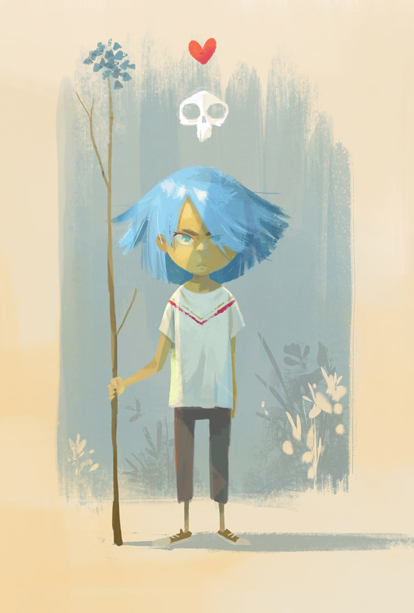 Character design (personal) 7