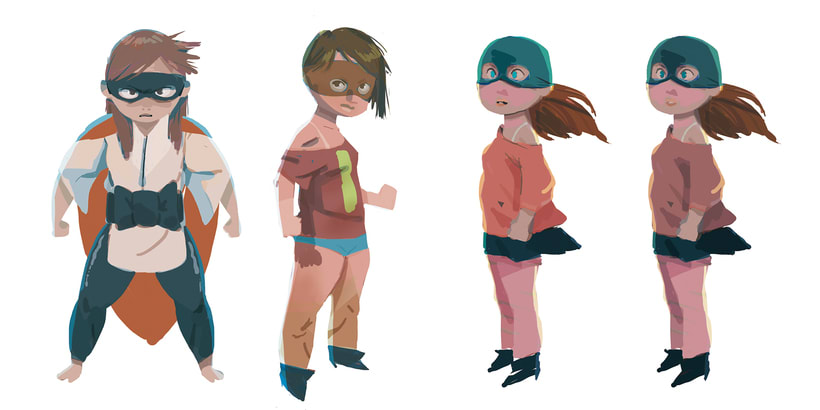 Character design (personal) 10