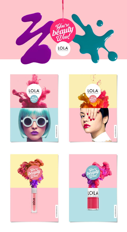 Lola Barcelona · Print Campaign -1