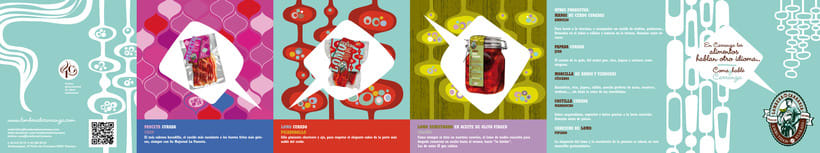 Brochure and label Lombera Embutidos 1